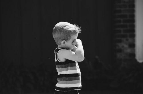 על אלימות במשפחה אלימות זוגית ילד בוכה