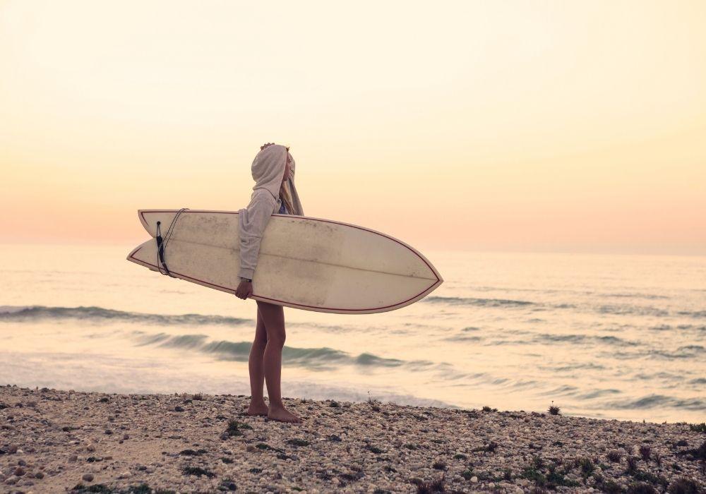 גלים, גלשן, המתנה לבדיקת הריון חיובית